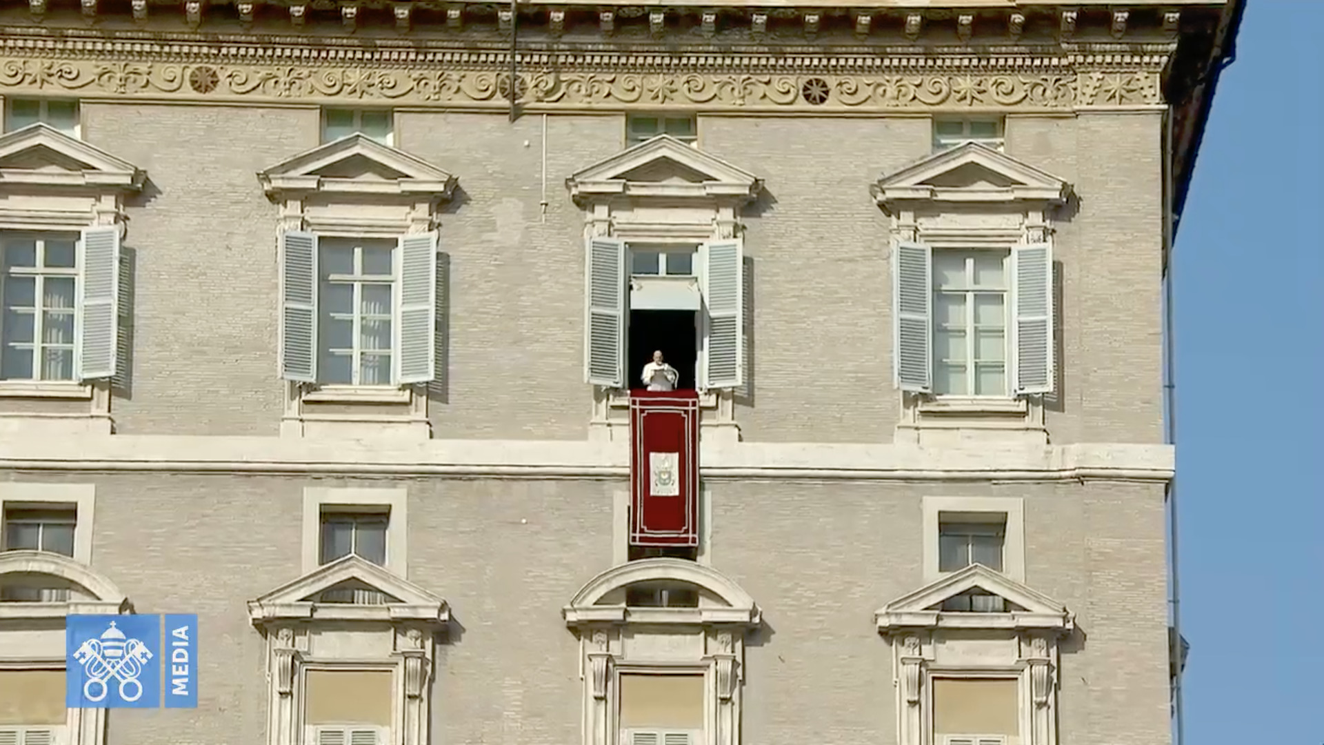 Angélus du 15 nov. 2020, capture @ Vatican Media