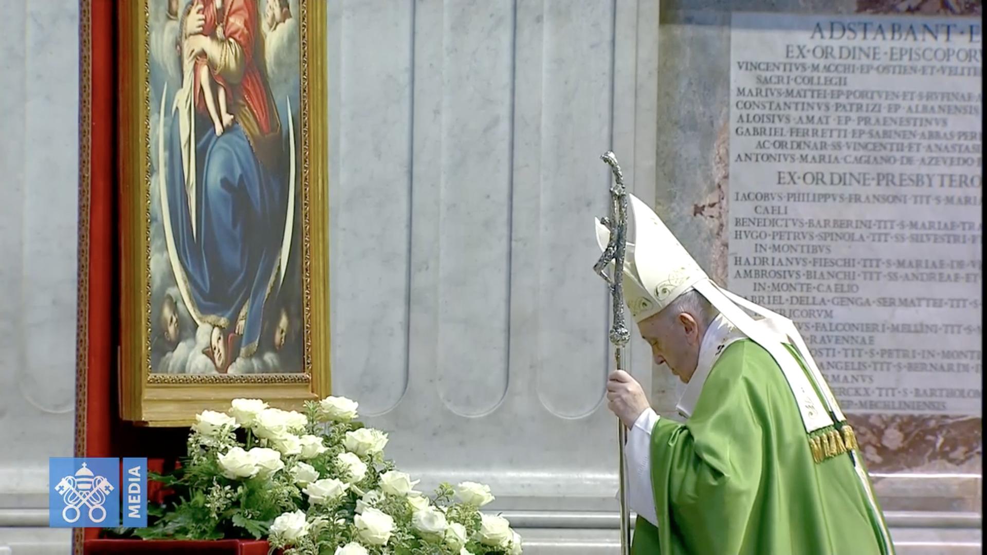 Journée mondiale des pauvres 2020, capture @ Vatican Media