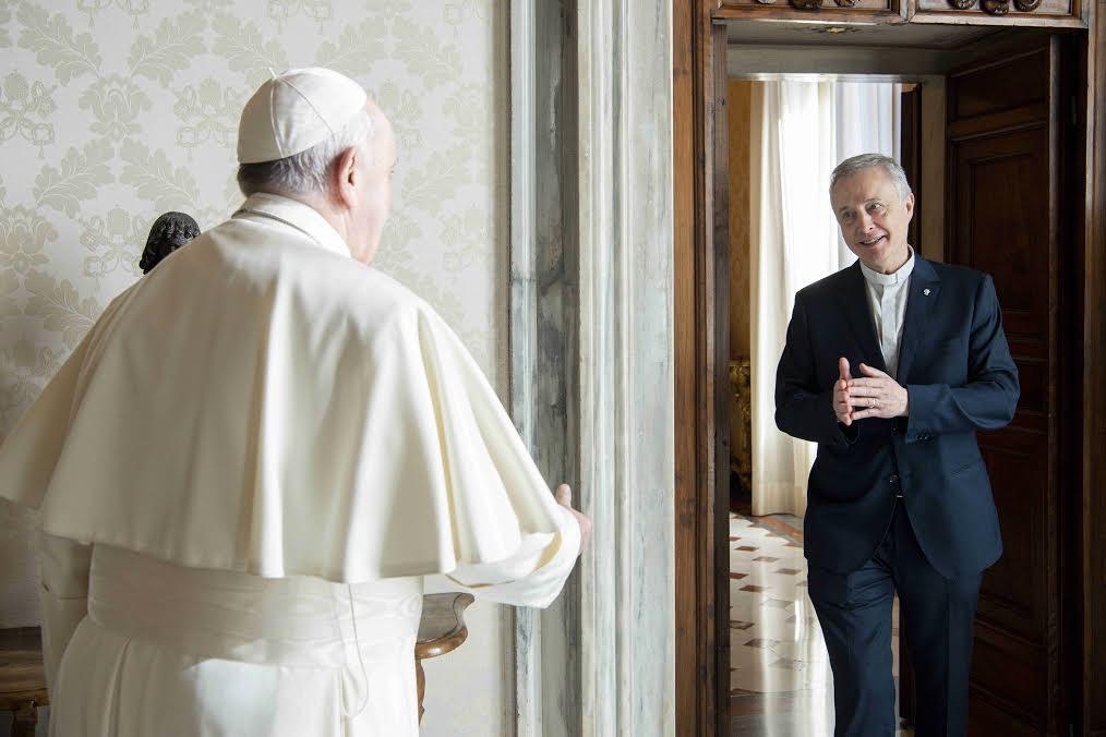 P. Tomaž Mavrič, C.M. © Vatican Media