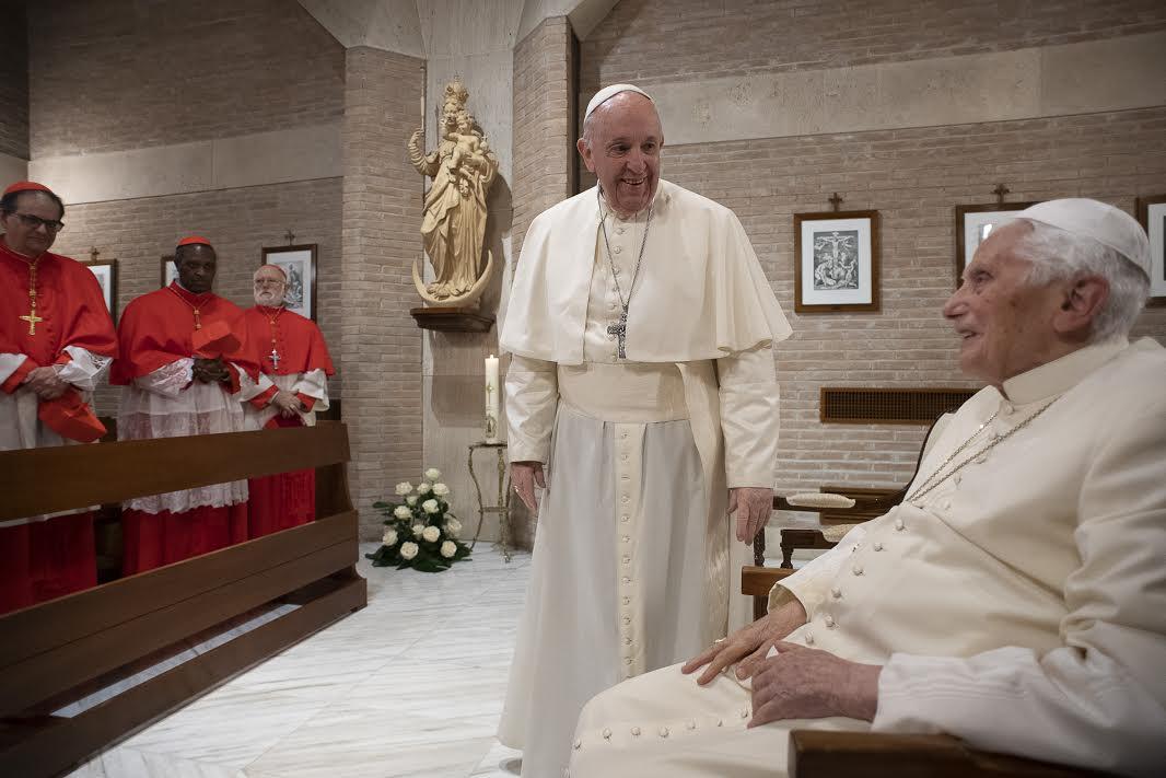 Visite à Benoît XVI, 28 nov. 2020 © Vatican Media