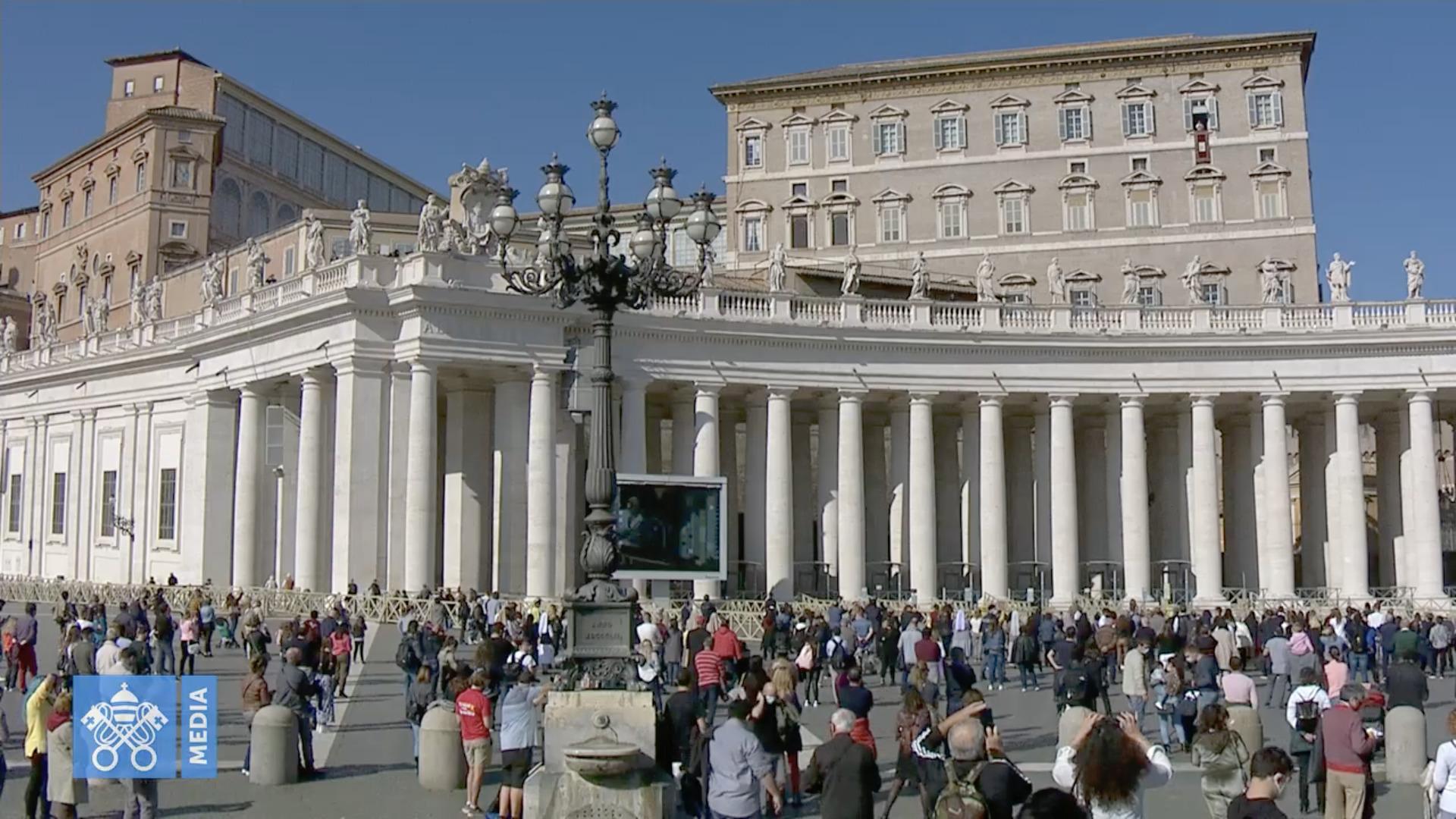 Angélus, 1er nov. 2020, capture @Vatican Media