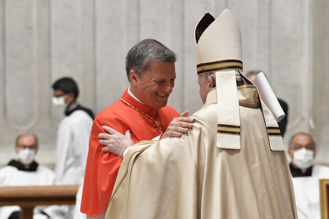Card. Grech, Consistoire © Vatican Media
