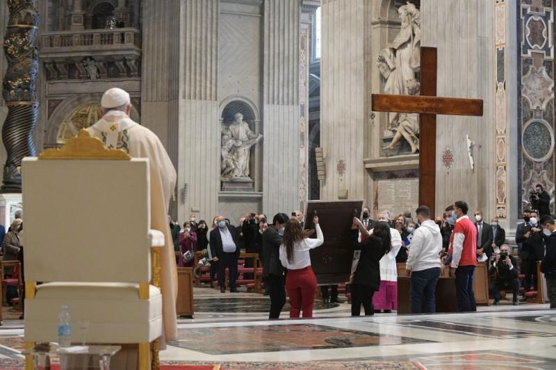 Messe du Christ Roi, 22 novembre 2020 © Vatican Media