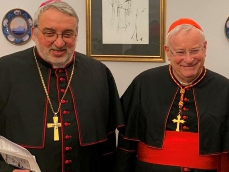 Mgr Salvi et le card. Bassetti @ diocèse de Pérouse /La Voce