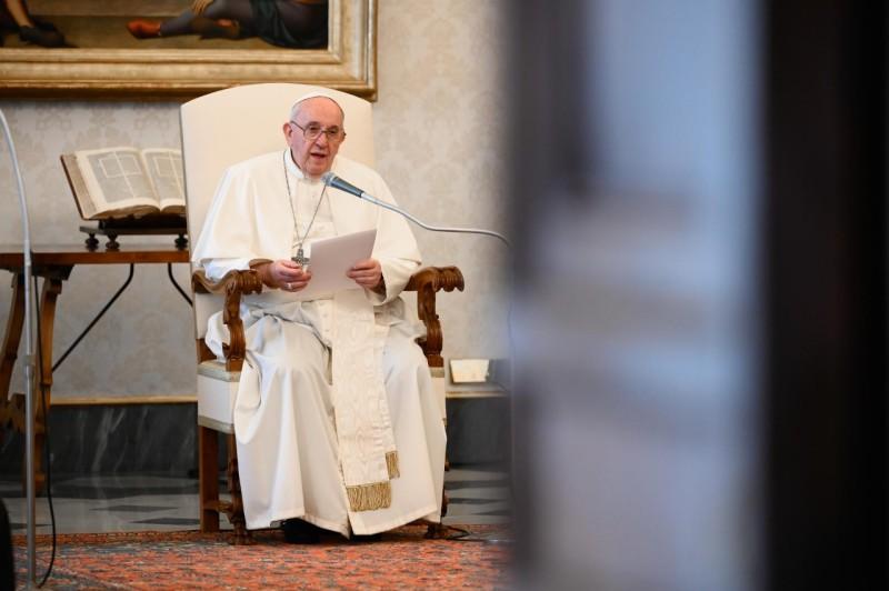 Audience générale du 4 novembre 2020 © Vatican Media