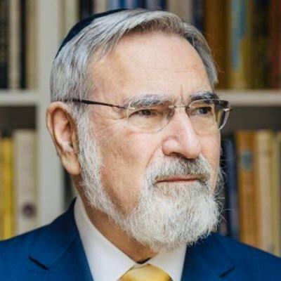 Rabbin Jonathan Sacks @rabbisacks