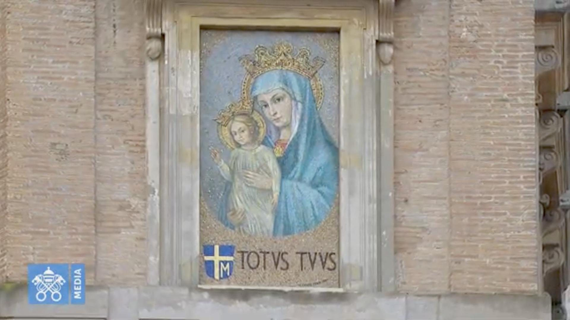 Angélus du 8 déc. 2020, capture @ Vatican Media