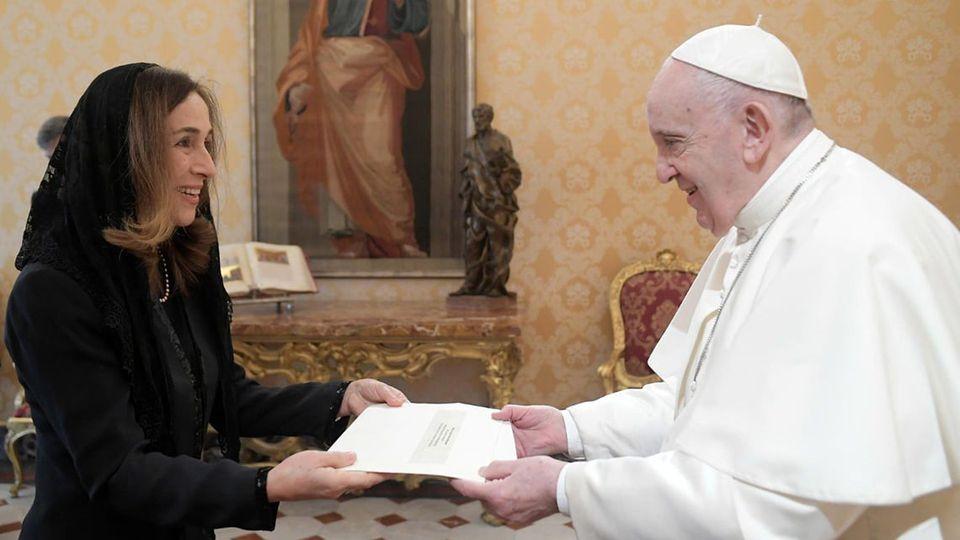 Mme Marija Efremova (Macédoine du Nord) © Vatican Media