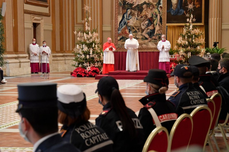 Urbi et Orbi, 25 décembre 2020 © Vatican Media