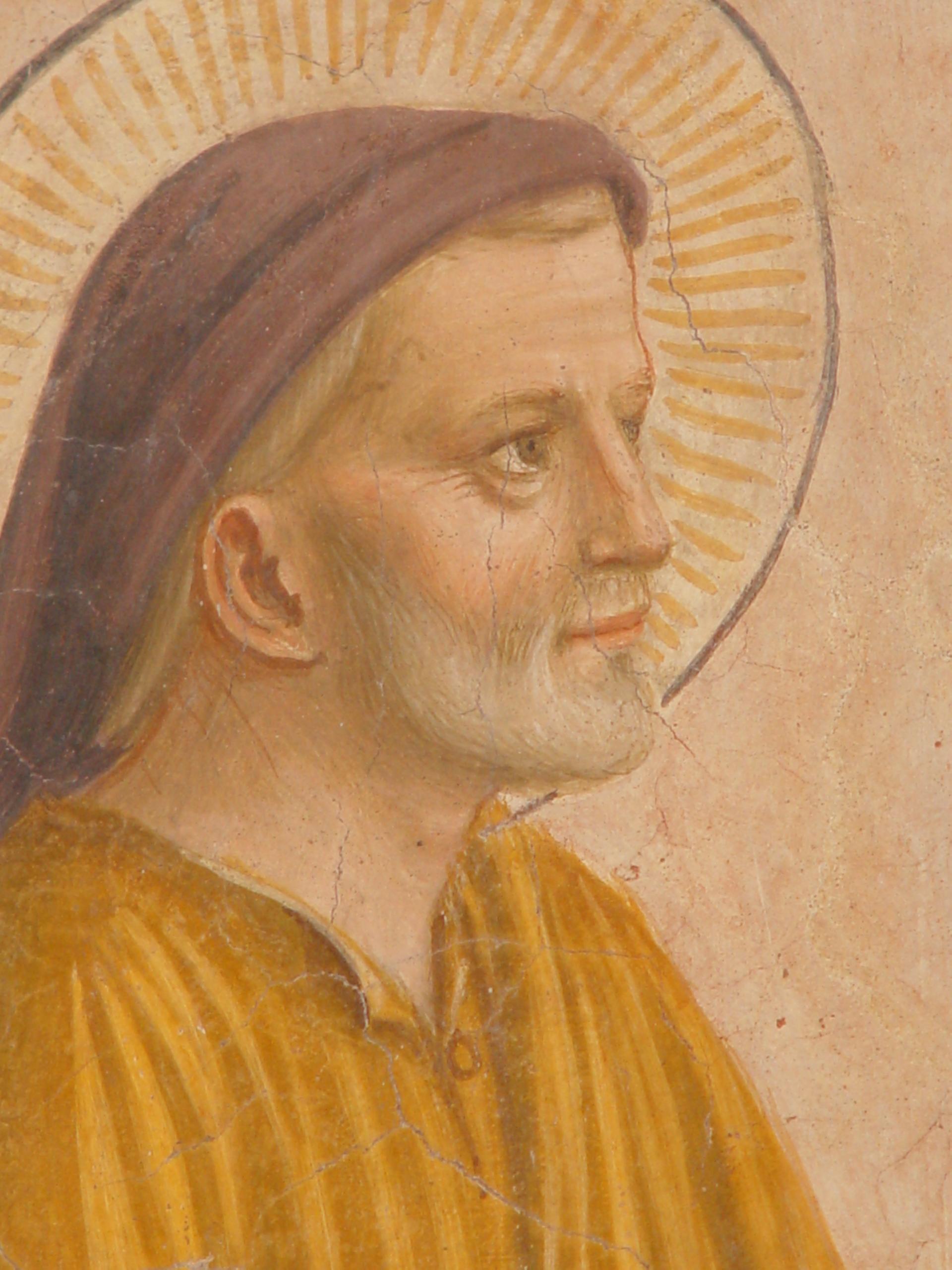 S. Joseph par Fra Angelico, couvent S. Marc, Florence (Italie) © Fr. Manuel Rivero OP