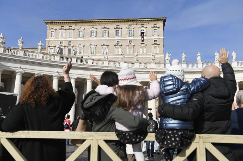 Angélus du 20 décembre 2020 © Vatican Media