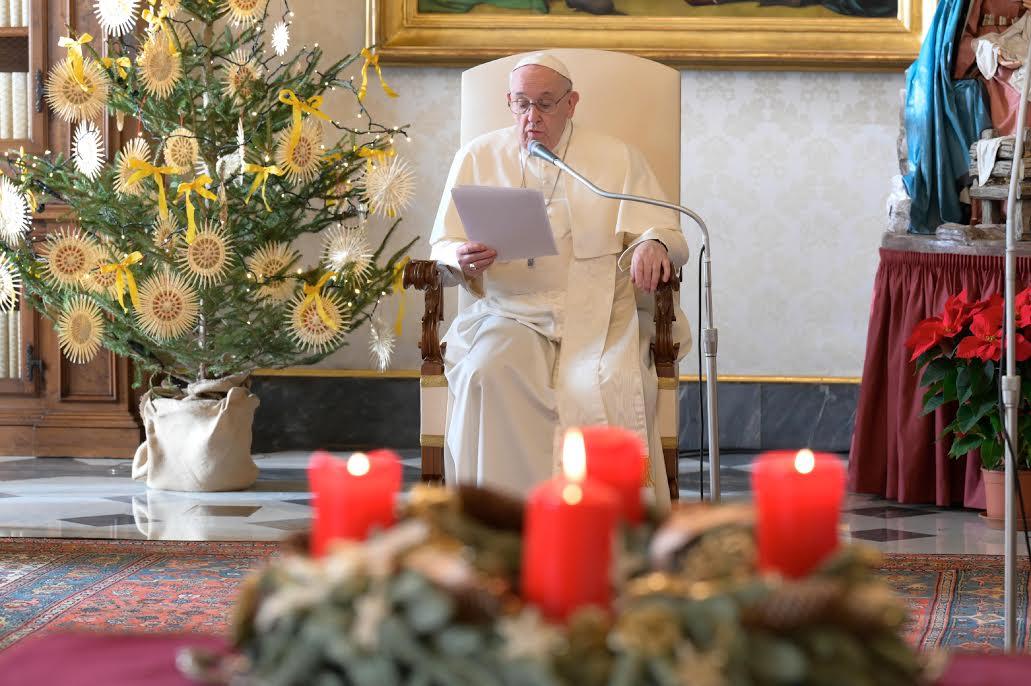 Audience du 23 déc. 2020 © Vatican Media