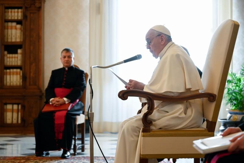 Audience générale du 13 janv. 2021 © Vatican Media