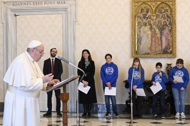 Angélus du 31 janvier 2021 © Vatican Media