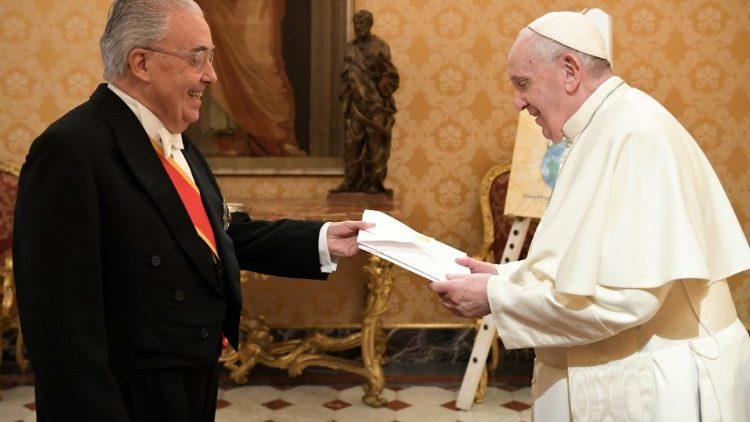 Guzmán M. Carriquiry Lecour (Uruguay) © Vatican Media