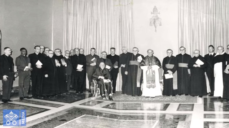 Documentaire sur la Commission théologique internationale, capture Vatican Media