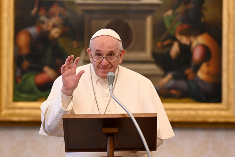 Angélus du 17 janvier 2021 © Vatican Media
