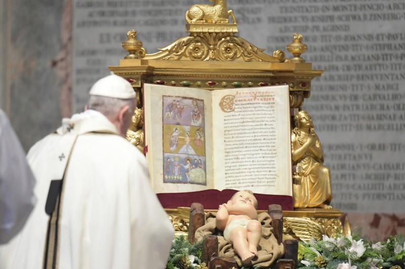 Messe de l'épiphanie, 6 janvier 2021 © Vatican Media