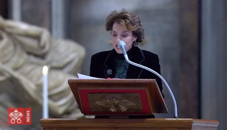 Messe de l'épiphanie 2021, Saint-Pierre, capture Vatican News