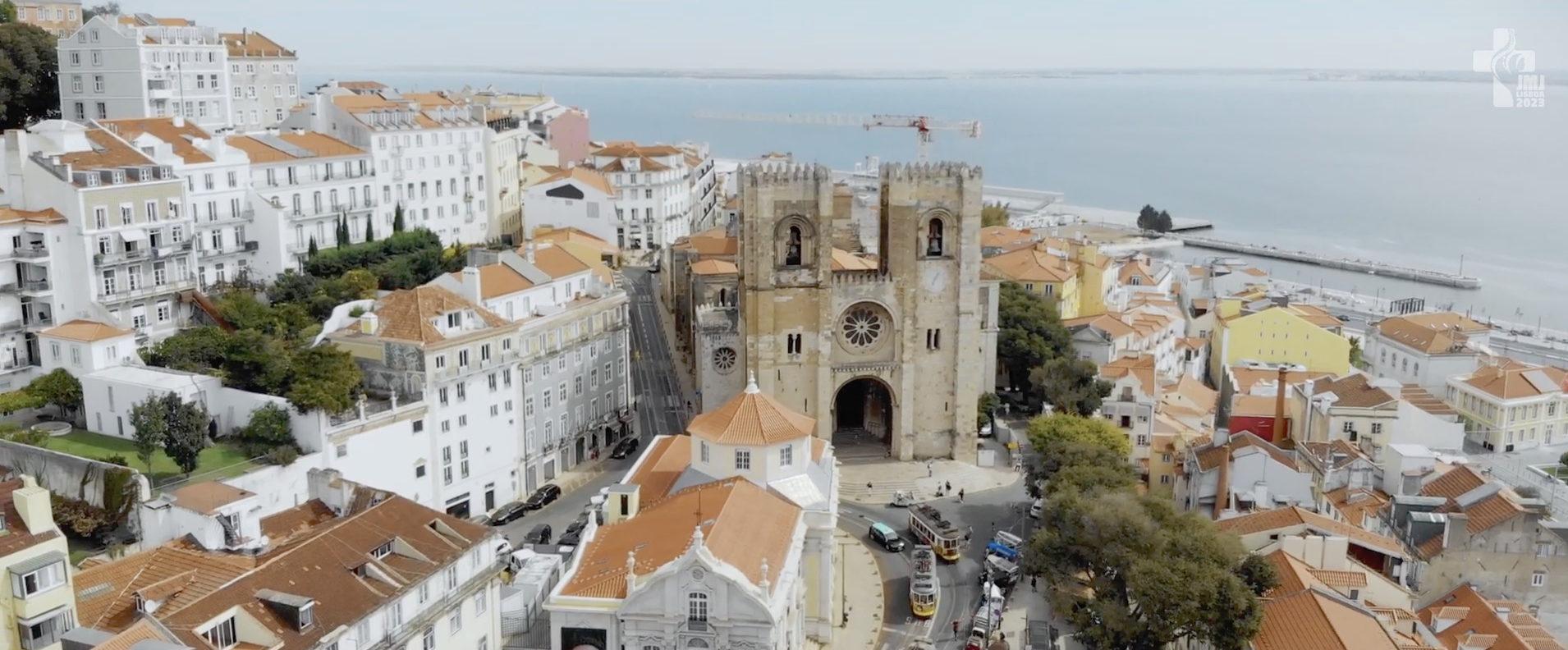 Capture clip de la JMJ de Lisbonne 2023 @ YouTube