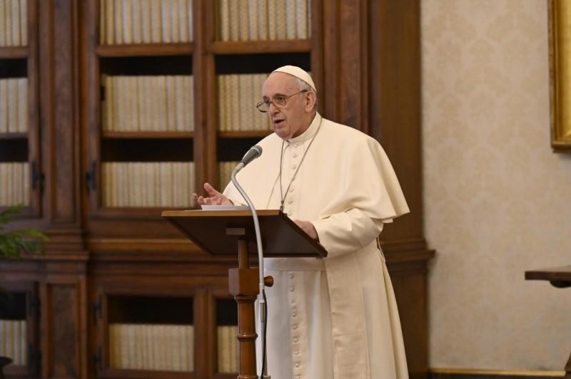 Angélus, 24 janv. 2021 © Vatican Media
