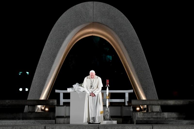 Rencontre de la paix, Nagasaki, 24 11 2019 © Vatican Media