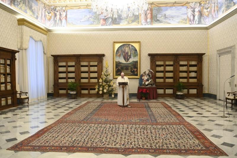 Angélus du 3 janvier 2021 © Vatican Media