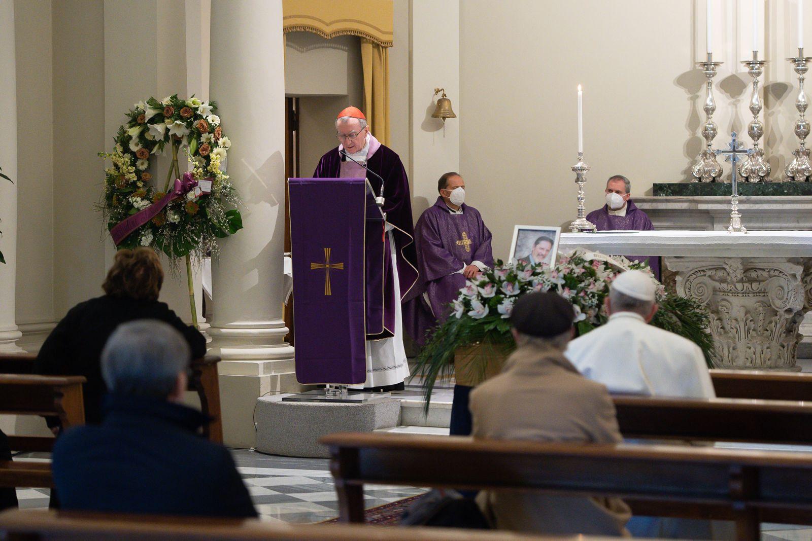 Funérailles du docteur Fabrizio Soccorsi © Vatican Media