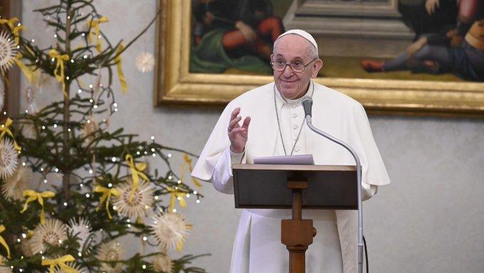 Angélus, 10 janv. 2021 © Vatican Media