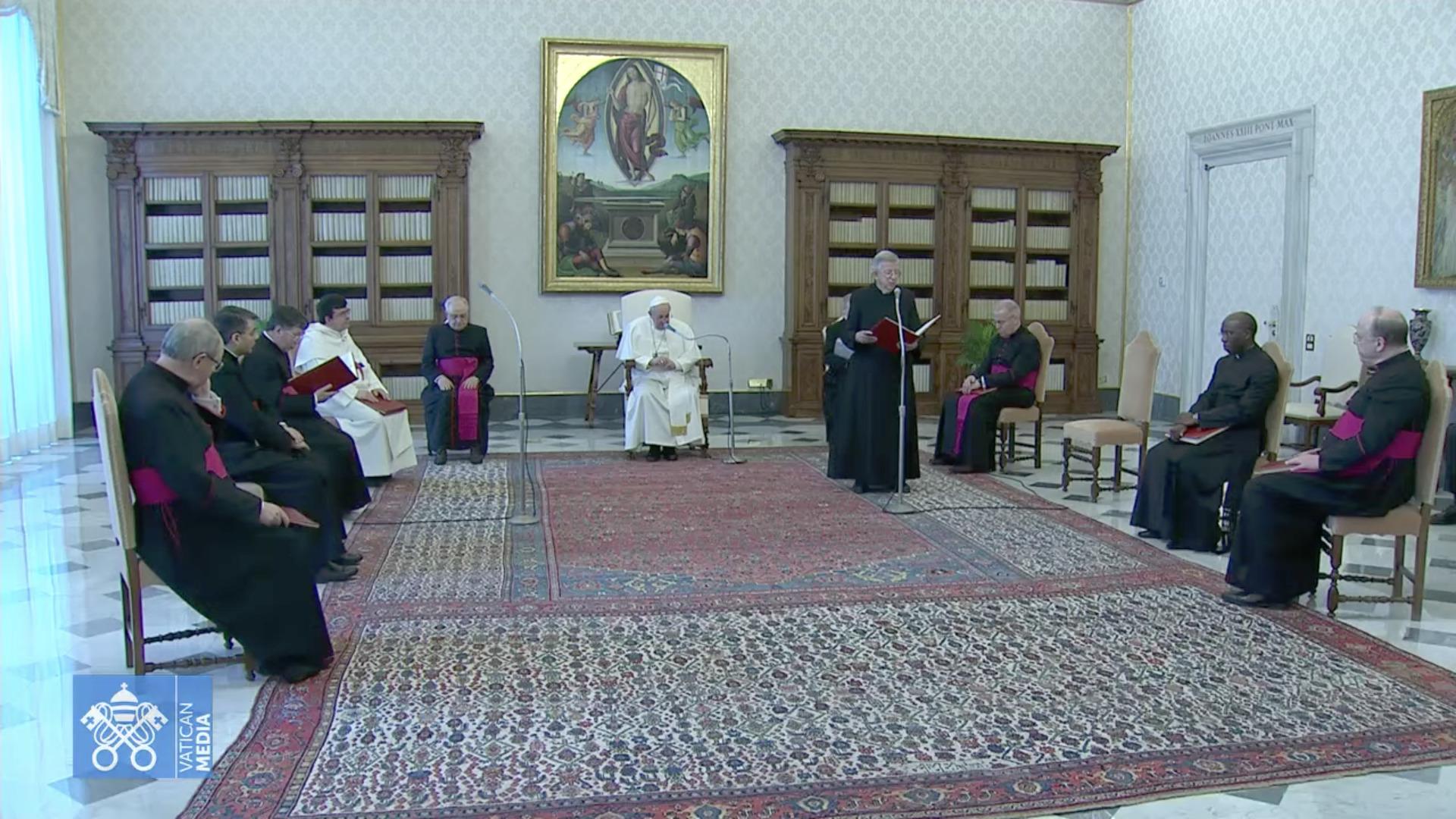 Audience générale du 27 janvier 2021 capture @ Vatican Media