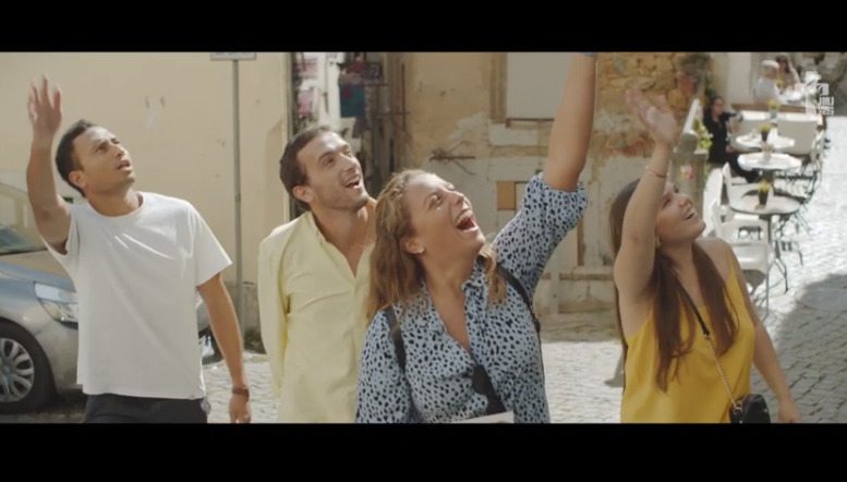 Hymne des JMJ de Lisbonne 2023, capture vidéo Lisboa 2023