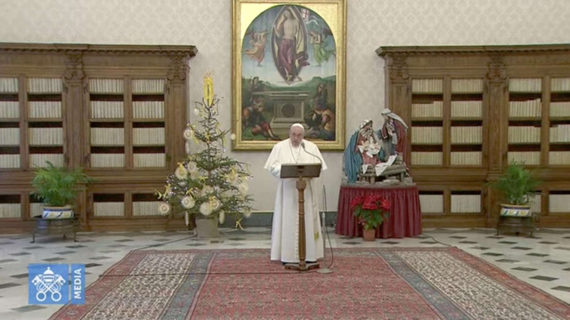 Angélus, 10 janv. 2021, capture @ Vatican Media