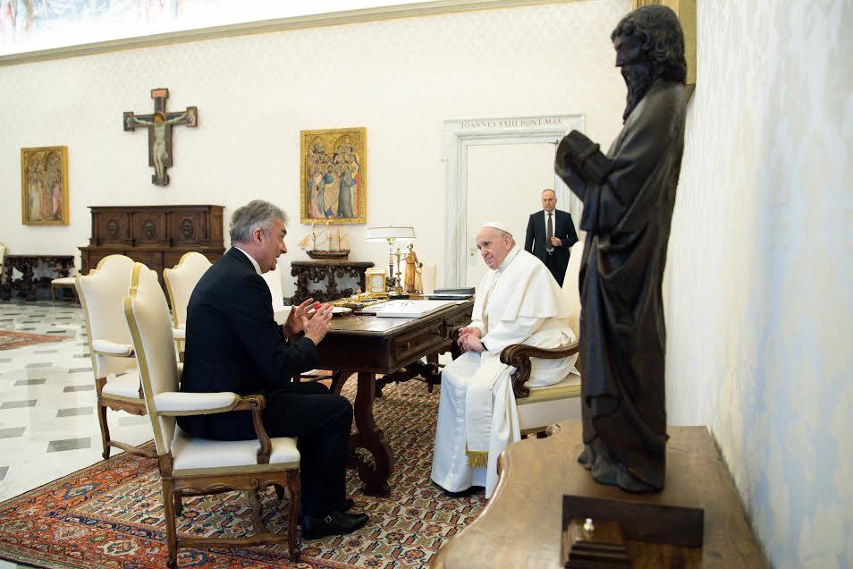 M. Miodrag Vlahović (Montenegro) © Vatican Media