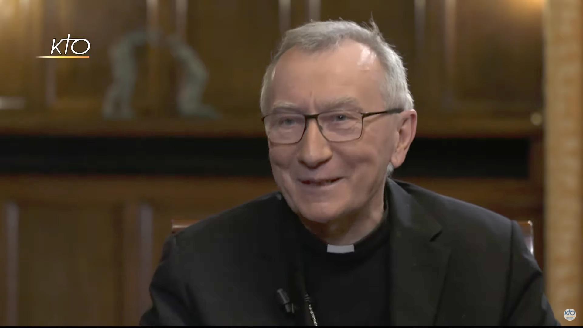 Cardinal Parolin, capture @KTO, 29 janvier 2021