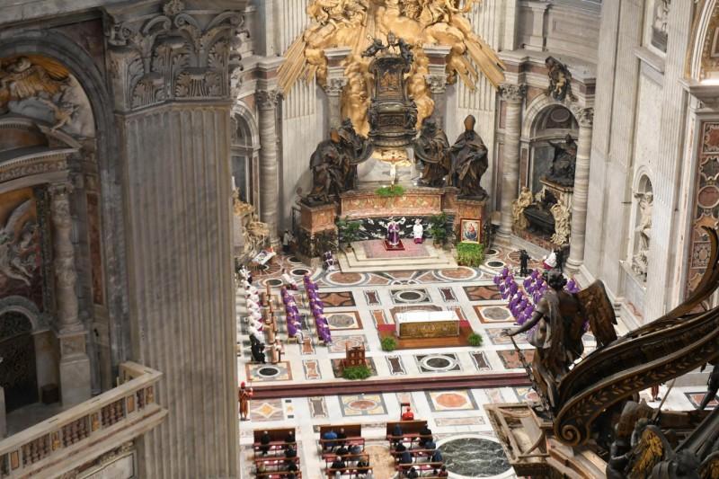 Messe des Cendres © Vatican Media