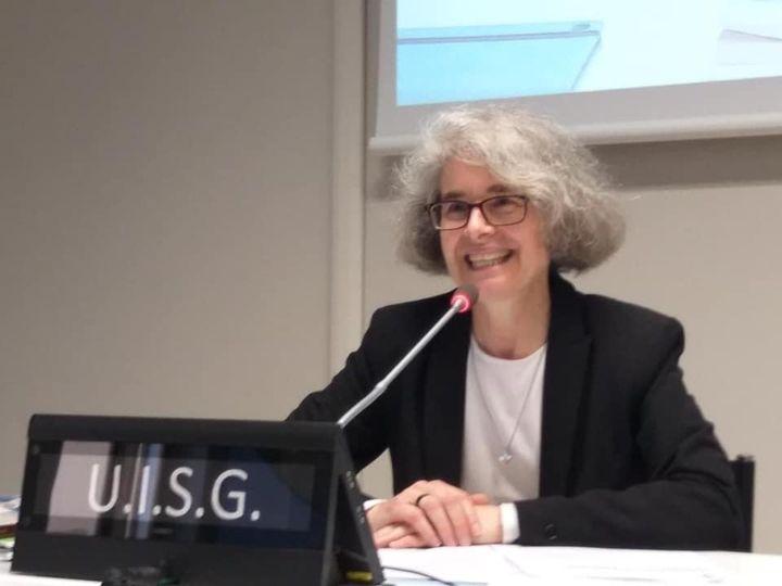 Soeur Nathalie Becquart, Xavière, 10 fév. 2021, capture @ UISG