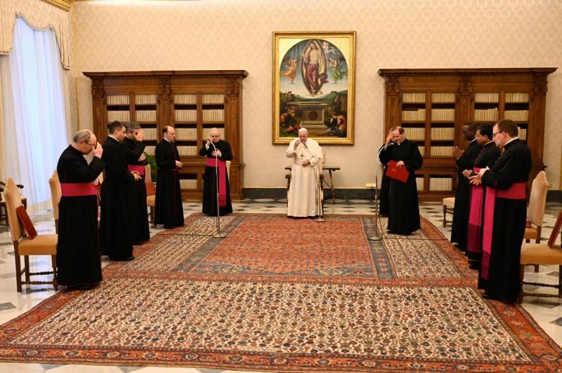 Audience générale du 10 février 2021 © Vatican Media
