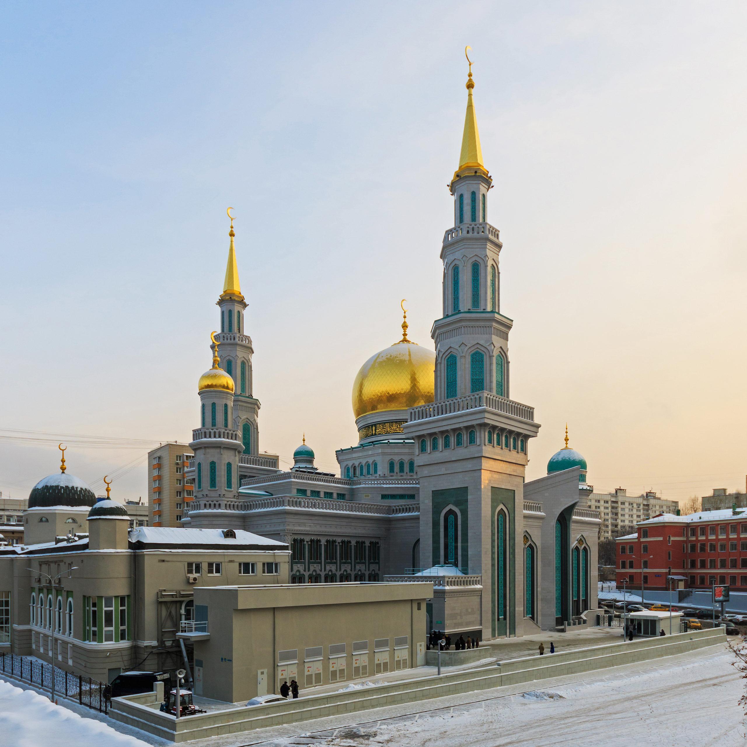 Grande mosquée de Moscou @ wikimedia commons / A.Savin