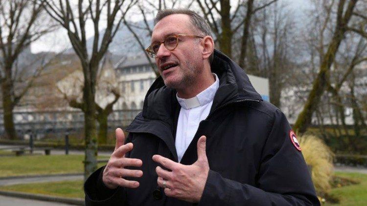 Mgr Olivier Ribadeau-Dumas © Sanctuaire de Lourdes