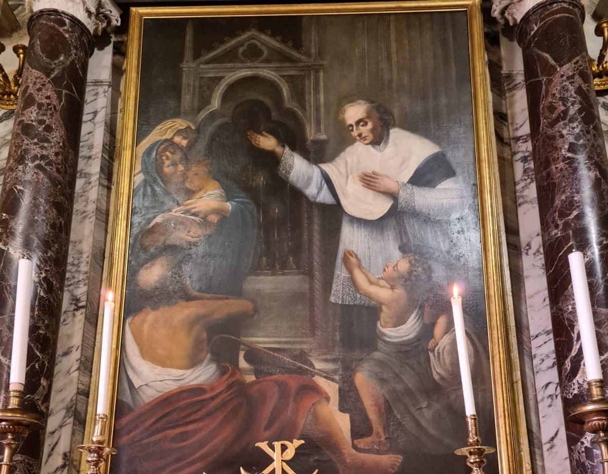 Relique de saint Valentin, Santa Maria in Cosmedin