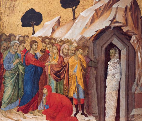 Marthe Marie Lazare Duccio di Buoninsegna © Wikimedia