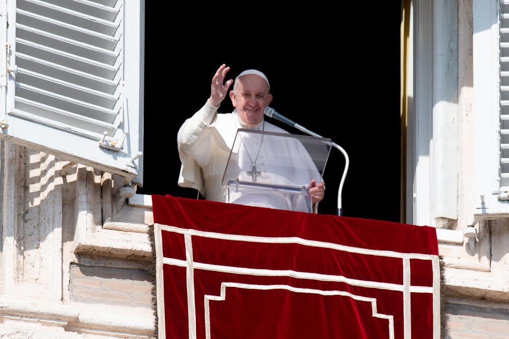 Angélus, 21 fév. 2021 © Vatican Media