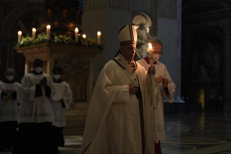 Messe du 2 fév. 2021 © Vatican Media