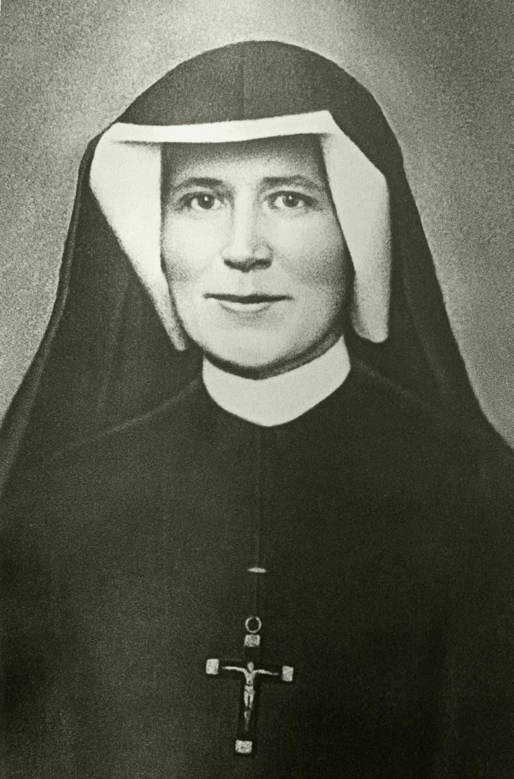 Sainte Faustine Kowalska @jesusichvertraueaufdich, FB, DP