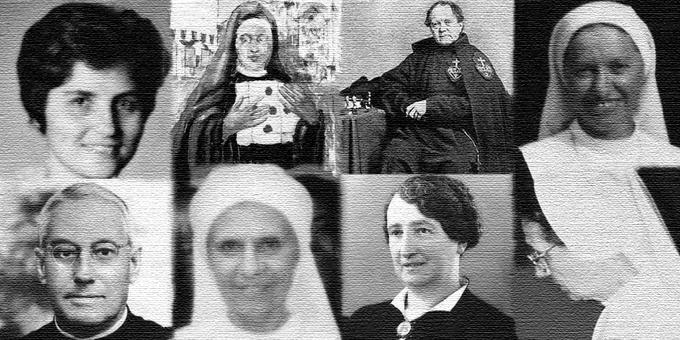 """7 nouveaux """"Serviteurs de Dieu"""", twitter @CauseSanti"""