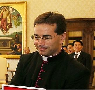 Mgr Mark Gerard Miles © Vatican Media