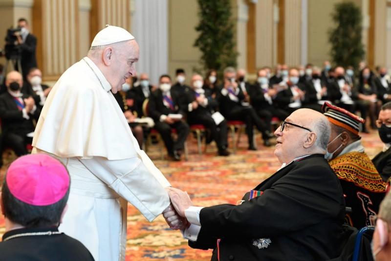 Voeux au Corps diplomatique, 8 février 2021 © Vatican Media