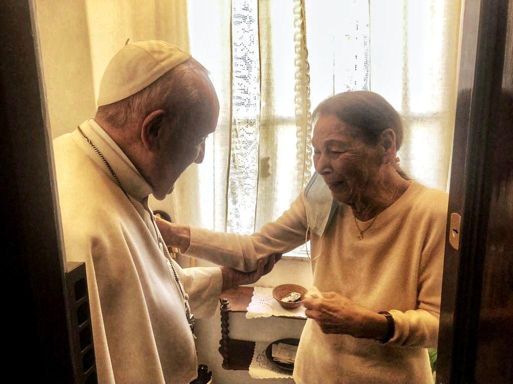 Edith Bruck © Vatican Media