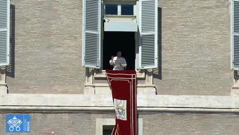 Angélus du 14 février 2021, capture Vatican Media