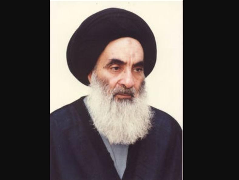 Grand ayatollah Al Sistani © wikimedia